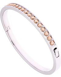 Ted Baker - Women's Clemara Hinge Crystal Bangle Bracelet - Lyst