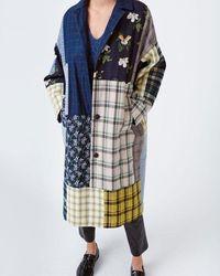 Munthe Ruthy Coat - Blue