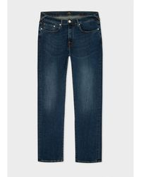 Paul Smith Tapered Slim Leg Jeans 32r, - Blue