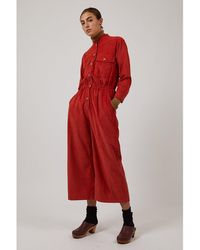 SIDELINE Frankie Red Jumpsuit