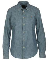 Ralph Lauren - Denim Shirt Light - Lyst