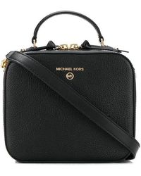 Michael Kors Women's 32t0gt9c2l001 Black Leather Handbag