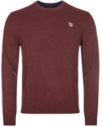 Paul Smith Jumper - Maroon - Red
