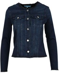 7 For All Mankind Jackets - Blue