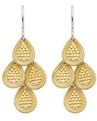 Anna Beck Chandelier Earring Gold - Metallic