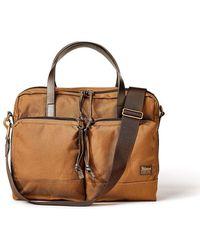 Filson Dryden Briefcase Whiskey - Brown