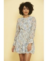 Frock and Frill Melia Floral Shift Dress - Multicolour