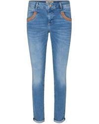 Mos Mosh Naomi Amber Jeans - Blue