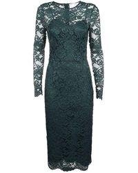 Elisabetta Franchi Women's Ab95996e2568v Green Polyamide Dress