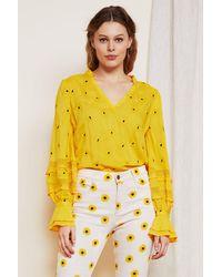 FABIENNE CHAPOT Cleo Top - Yellow