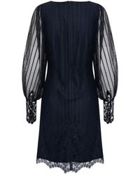 Part Two - Nelly Navy Dress - Lyst
