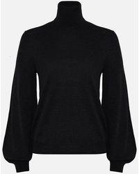 P.A.R.O.S.H. Black Polo Neck Sweater
