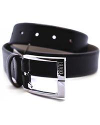 BOSS Green - Grain Leather Belt - Lyst
