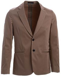 Paul Smith Men's M1r1599f0143062 Brown Cotton Blazer