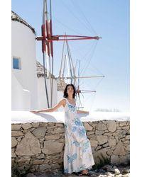 Haris Cotton Ariadne Maxi Dress - Multicolour