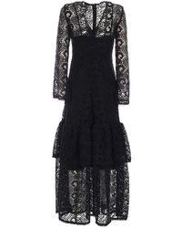 Pinko Women's 1n135a8510z99 Black Polyester Dress
