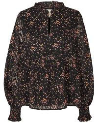 Lolly's Laundry Lollys Laundry Maya Blouse - Flower Print - Multicolour