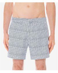 Sunspel Classic Swim Shorts - Blue