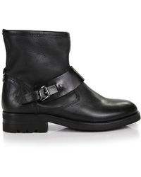 H by Hudson - Hudson Women's Mac Calf Biker Boots - Lyst