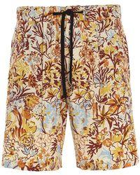 PT01 Colour Other Materials Shorts - Multicolour