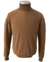 Circolo 1901 Vicugna Turtleneck Knitwear Cn2908 - Brown