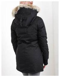 Nobis - Carla Fur Hooded Coat - Lyst