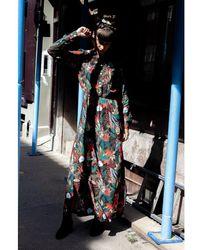 Libertine-Libertine Libertine-libertine Local Olive Jungle Dress - Multicolour