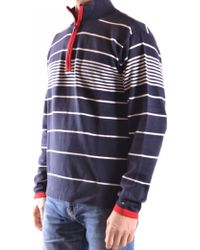 98a2bdc2a795 Lyst - Tommy Hilfiger Adler Shawl Collar Sweater in Red for Men