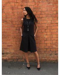 Caractere A-line Shift Dress Black