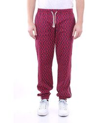 Gucci Pants Regular Men Red And Blue