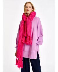 Essentiel Antwerp Antwerp - Long Ribbed-knit Scarf - Pink