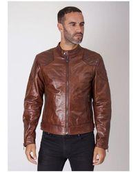 Belstaff Outlaw Jacket Colour: Cognac - Brown