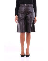 PT Torino - Shorts Bermuda Women Black - Lyst