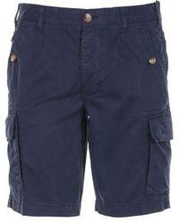 Blauer Shorts - Blue