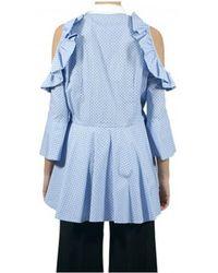 Vivetta Shirt Woman Snail Vv272 / 71 - Blue
