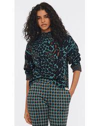 Diane von Furstenberg Dvf Rosabell Reversible Sweater - Multicolor