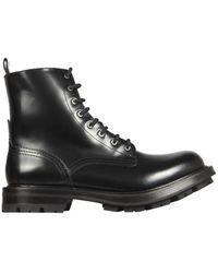 McQ Worker Boots - Black