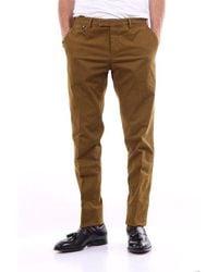 PT Torino Pants Chino Men Kaki - Brown