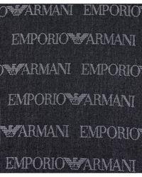 Armani - Armani Logo Scarf - Lyst
