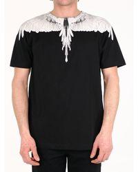 Marcelo Burlon Wings T-shirt Black