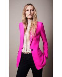 Smythe - Tailored Blazer Neon Pink - Lyst