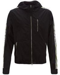 True Religion Windbreaker Jacket - Black