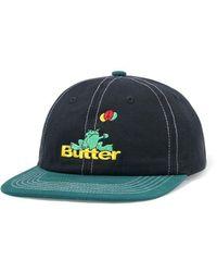 Butter Goods Frog 6 Panel Cap - Black