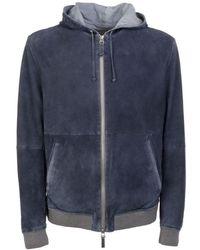 Gimo's Gimo`s Jackets & Coats 1j033 53w144 - Blue
