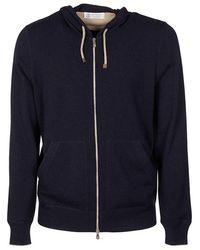 Brunello Cucinelli Sweaters - Blue