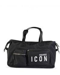 DSquared² D2 Icon Duffle Bag - Black
