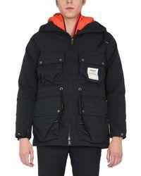 Nigel Cabourn Men's 475801black Black Polyamide Outerwear Jacket