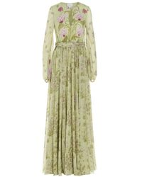 Giambattista Valli Women's 21sspvro502522stfp045 Green Other Materials Dress