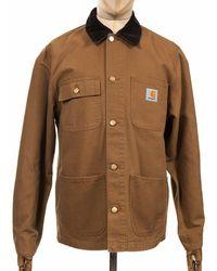 Carhartt Wip Michigan Coat - Hamilton Colour: Hamilton (ri - Brown