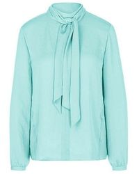 Marc Cain - Collections Blouse Turquoise 332 Pc 51.31 W39 - Lyst